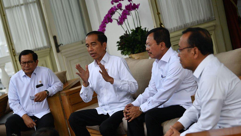 Cita Rasa Politik dalam Komunikasi Jokowi-Anies soal Corona